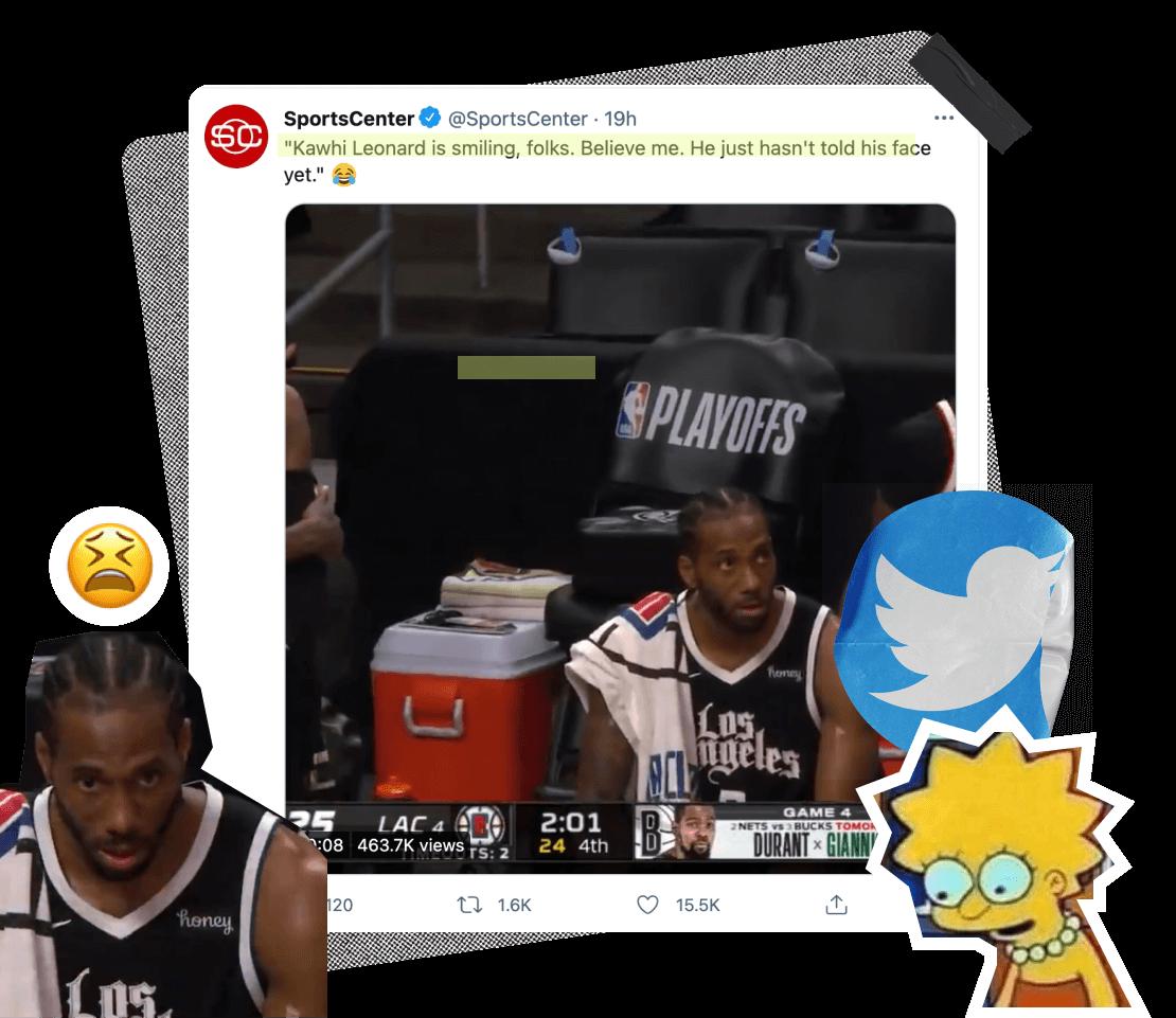 SportsCenter tweet about Simone Biles